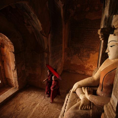 UNESCO Youth Eyes on the Silk Roads Photo Contest, Monuments  © Hesham Alhumaid, Myanmar