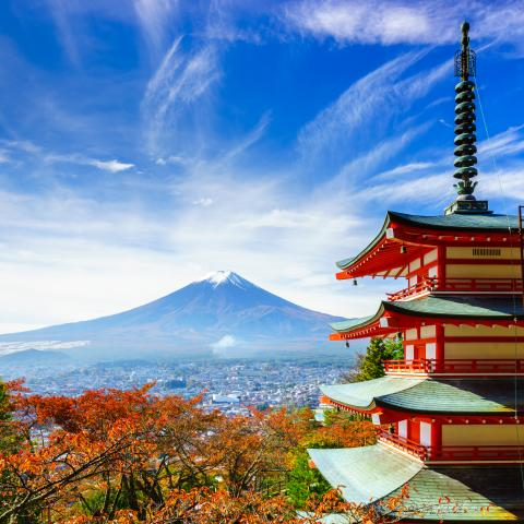 UNESCO Youth Eyes on the Silk Roads Photo Contest, Inspiration Gallery.  © Ikuni, Japan, Mount Fuji