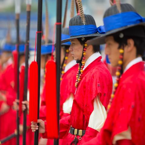 UNESCO Youth Eyes on the Silk Roads Photo Contest, Inspiration Gallery.  Gyeongbukgung Palace, Seoul, South Korea.  © Shutterstock