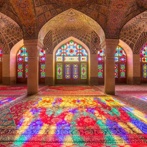 UNESCO Youth Eyes on the Silk Roads Photo Contest, Monuments.  © Alexander Mazurkevich, Iran, Nasir al-Mulk