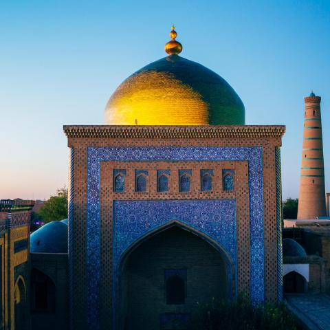 UNESCO Youth Eyes on the Silk Roads Photo Contest, Monuments.  © Iryna Hromotska, Itchan Kala in Khiva, Uzbekistan