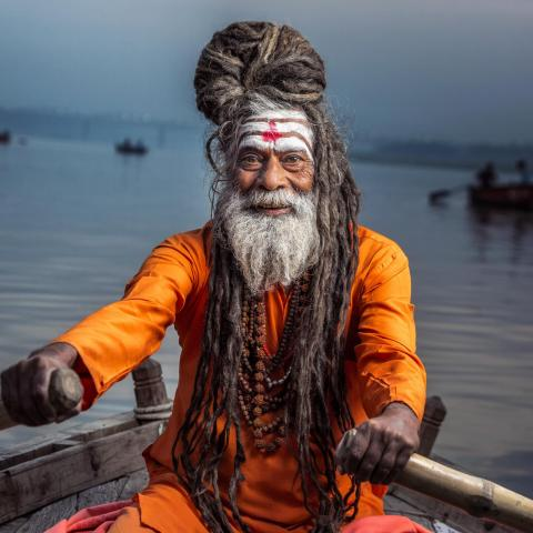 UNESCO Youth Eyes on the Silk Roads Photo Contest, Inspiration Gallery.  © Rusian Kalnitsky, Portrait, Varanasi, India