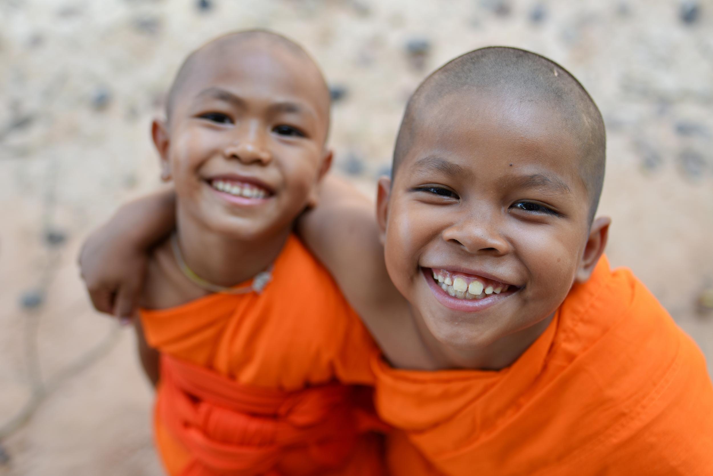 UNESCO Youth Eyes on the Silk Roads Photo Contest.    © Bannafarsai_Stock. Myanmar, Novice Monks.