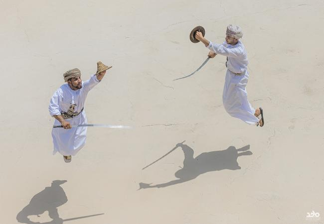 UNESCO Youth Eyes on the Silk Roads Photo Contest.  © Majid Al Amri, Fencing