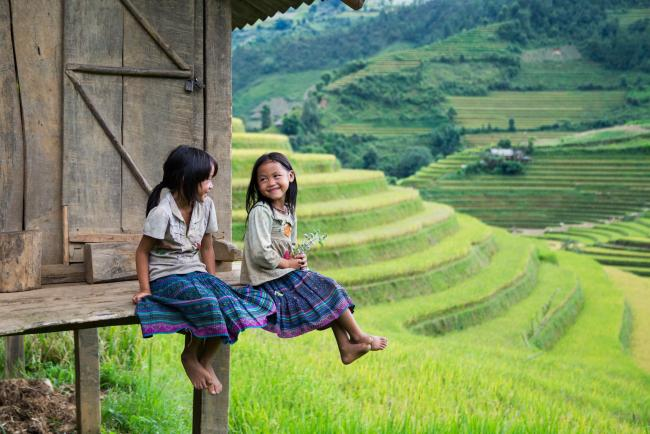 UNESCO Youth Eyes on the Silk Roads Photo Contest, People.  © Jimmy Tran.  Mucangchai, Vietnam