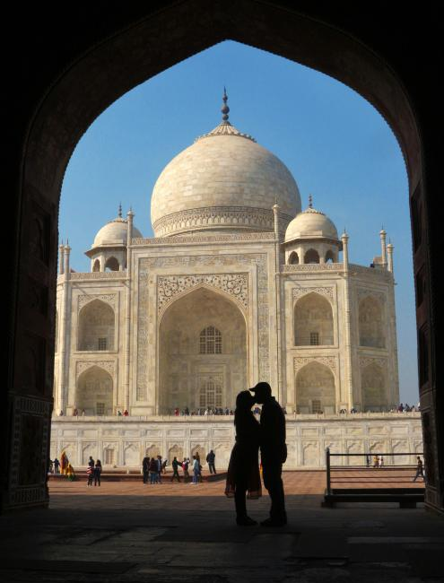 UNESCO Youth Eyes on the Silk Roads Photo Contest Winners. © Rishab Nandi Photography.  Taj Mahal, India.